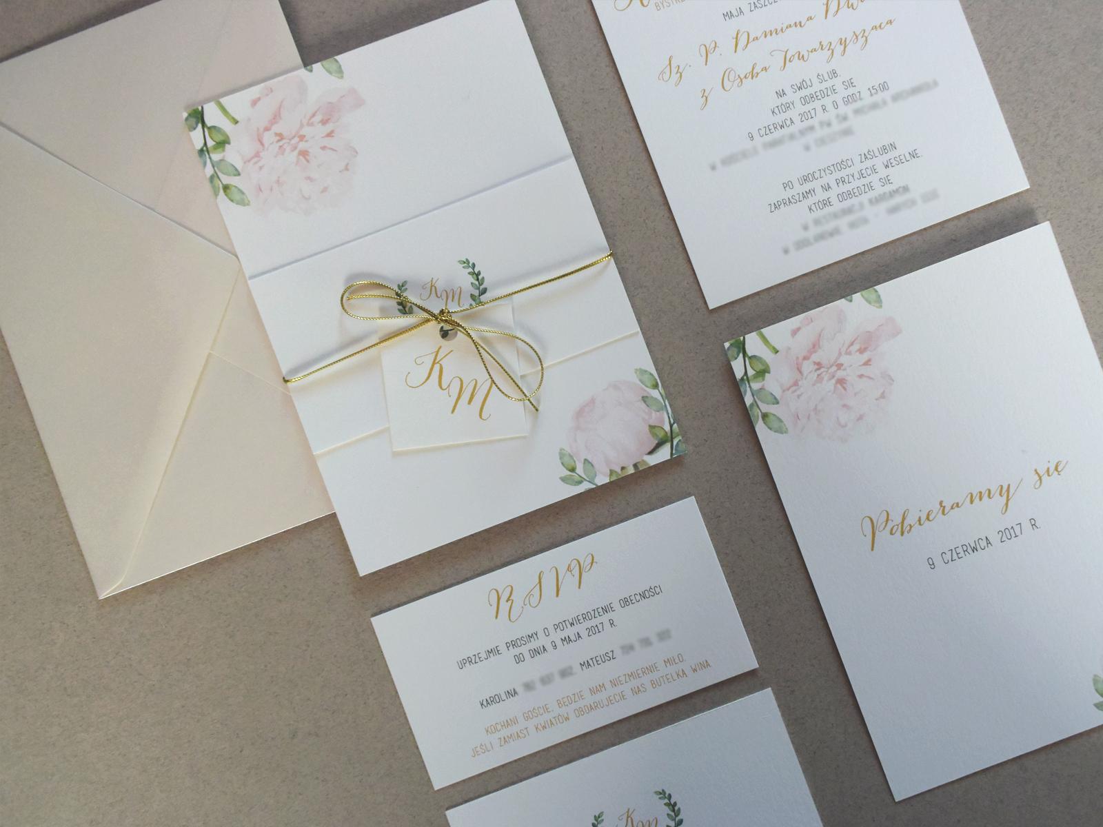 Projekty Zaproszeń Mrs Design